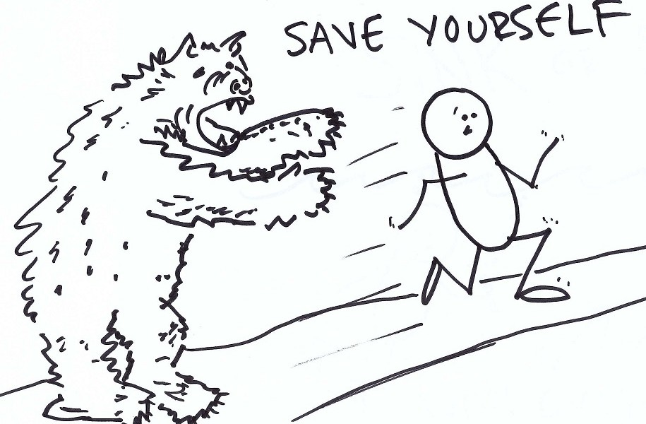 Learn How To Save Yourself From Being Chased By A Bear
