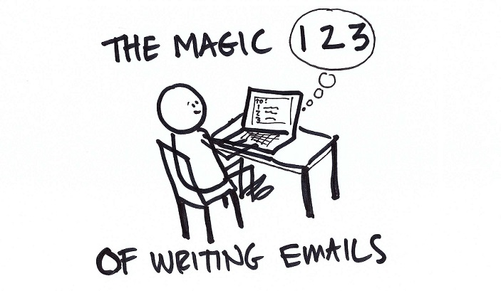 The Magic Three in Writing Emails