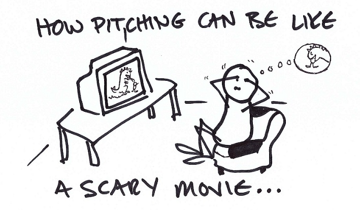 How Pitching Can be Like a Scary Movie