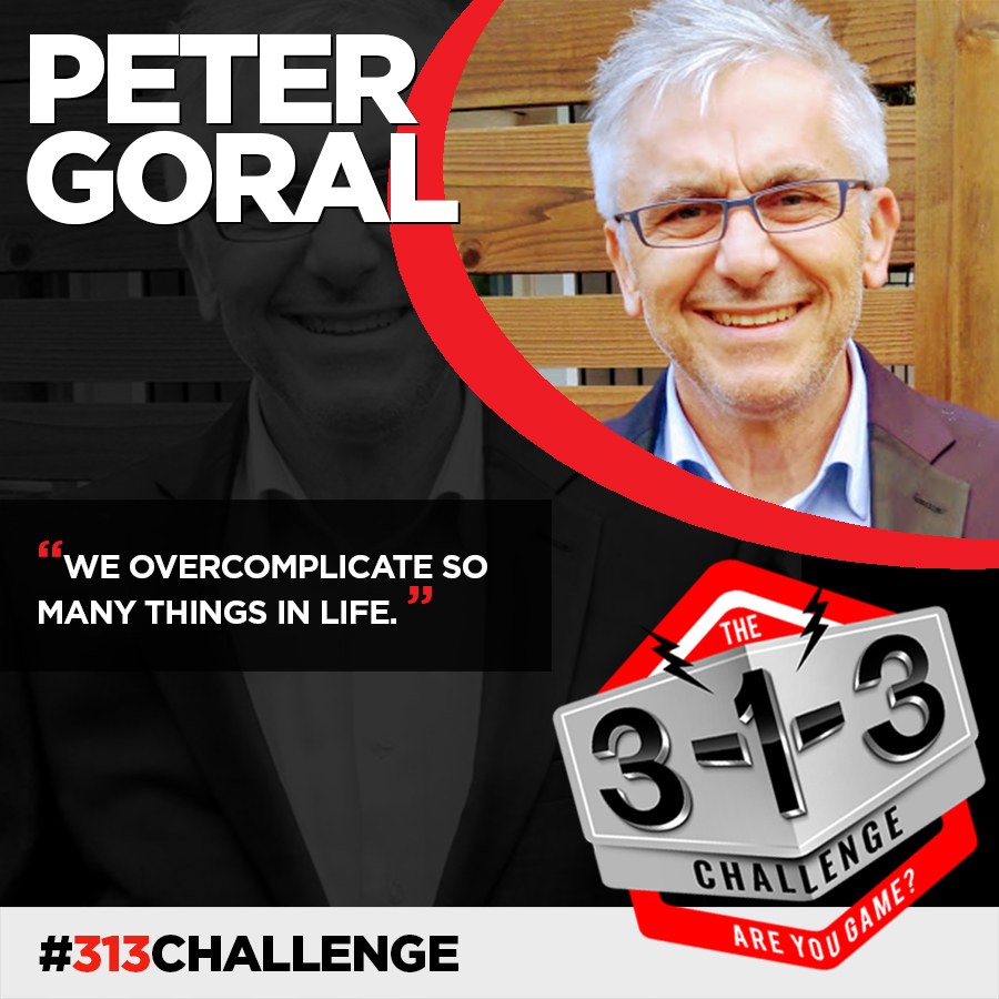 The 3-1-3 Challenge with Ryan Foland - Peter Goral