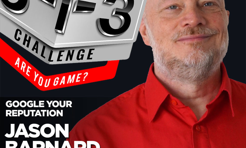Podcast! The 3-1-3 Challenge with Ryan Foland: Jason Barnard