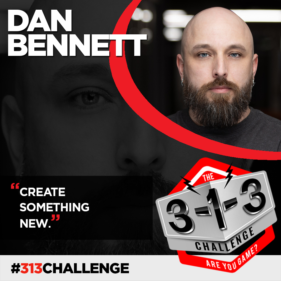 Podcast! The 3-1-3 Challenge with Ryan Foland: Dan Bennett - 1 Minute Media