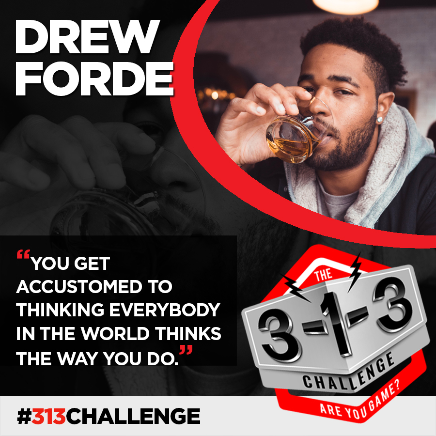 Podcast! The 3-1-3 Challenge with Ryan Foland: Drew Forde