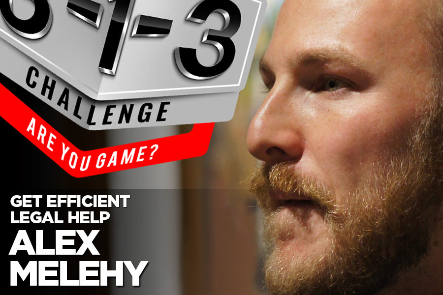 Podcast! The 3-1-3 Challenge with Ryan Foland: Alex Melehy