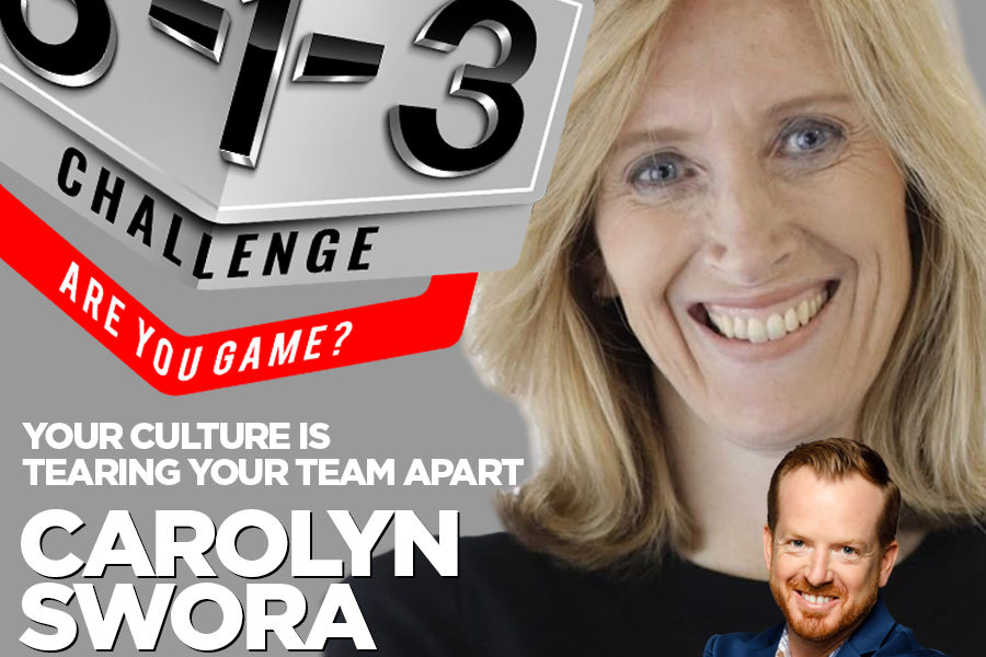 Podcast! The 3-1-3 Challenge with Ryan Foland: Carolyn Swora