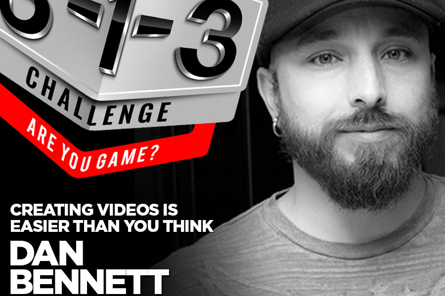 Podcast! The 3-1-3 Challenge with Ryan Foland: Dan Bennett – 1 Minute Media