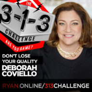 Podcast! The 3-1-3 Challenge with Ryan Foland: Deborah Coviello