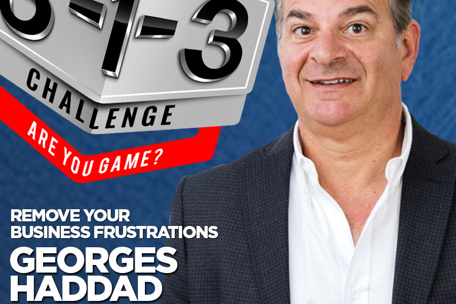 Podcast! The 3-1-3 Challenge with Ryan Foland: Georges Haddad