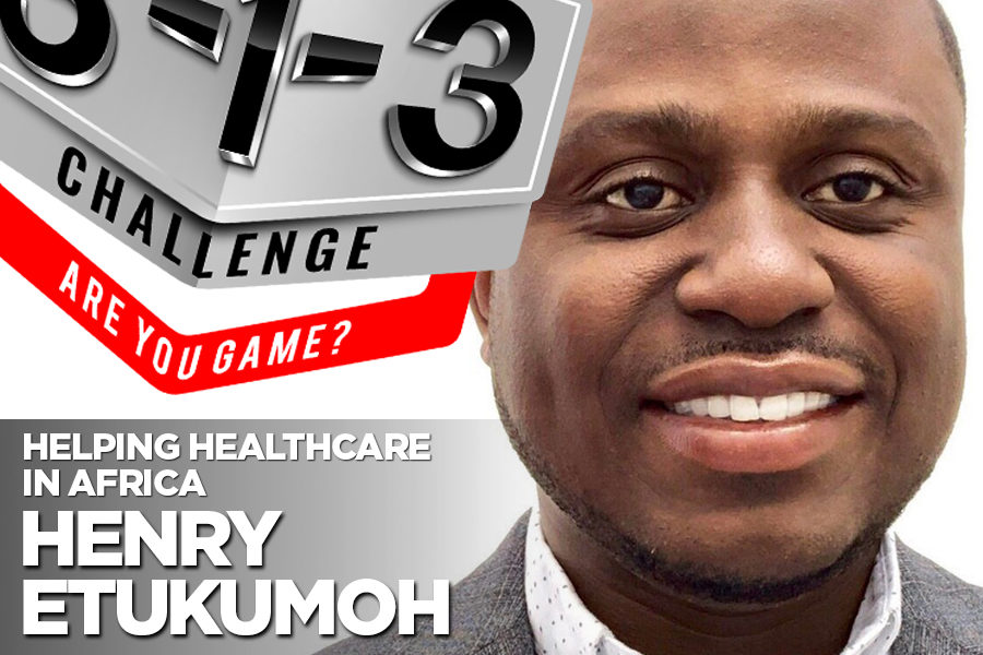 Podcast! The 3-1-3 Challenge with Ryan Foland: Henry Etukumoh