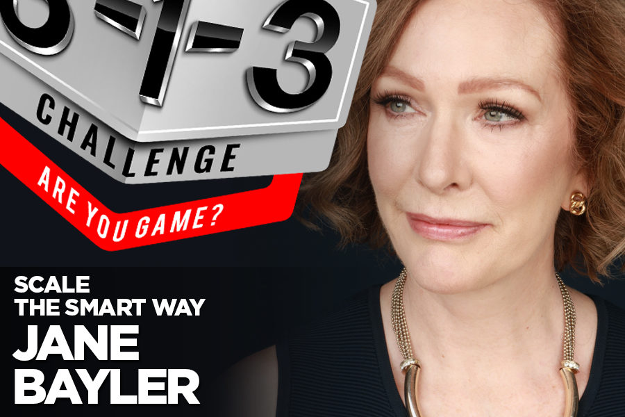 Podcast! The 3-1-3 Challenge with Ryan Foland: Jane Bayler