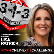 Podcast! The 3-1-3 Challenge with Ryan Foland: Lisa Patrick