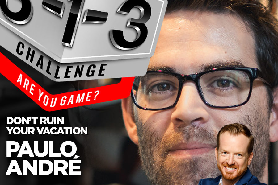 Podcast! The 3-1-3 Challenge with Ryan Foland: Paulo André