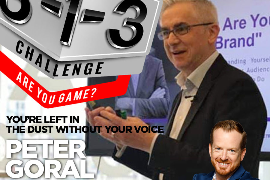 Podcast! The 3-1-3 Challenge with Ryan Foland: Peter Goral