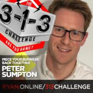 Podcast! The 3-1-3 Challenge with Ryan Foland: Peter Sumpton
