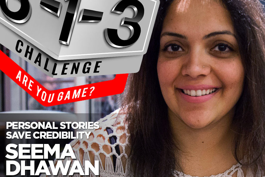 Podcast! The 3-1-3 Challenge with Ryan Foland: Seema Dhawan
