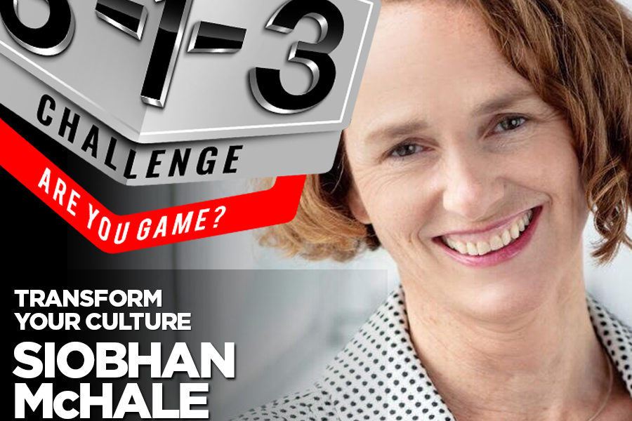 Podcast! The 3-1-3 Challenge with Ryan Foland: Siobhan McHale