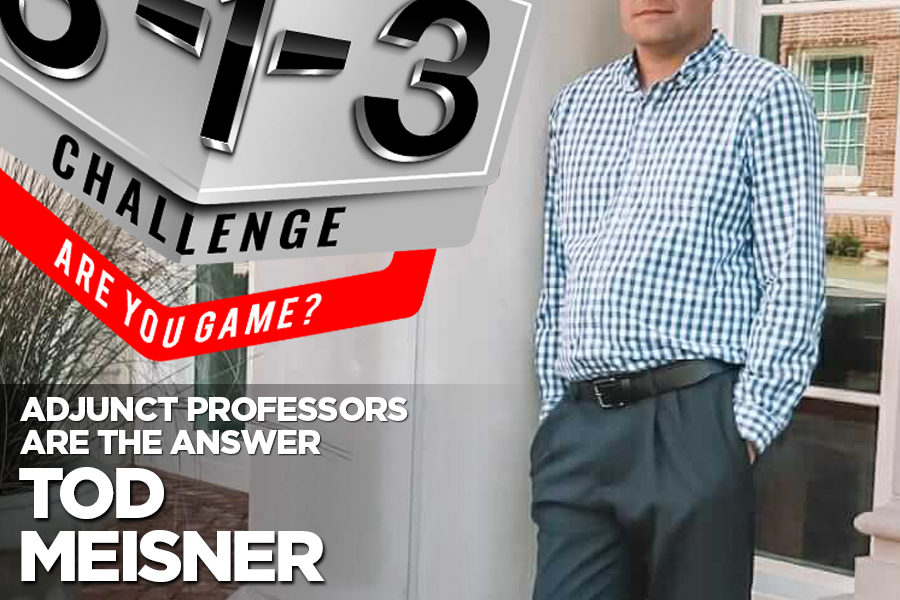 Podcast! The 3-1-3 Challenge with Ryan Foland: Tod Meisner