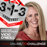 Podcast! The 3-1-3 Challenge with Ryan Foland: Vicki O'Neill
