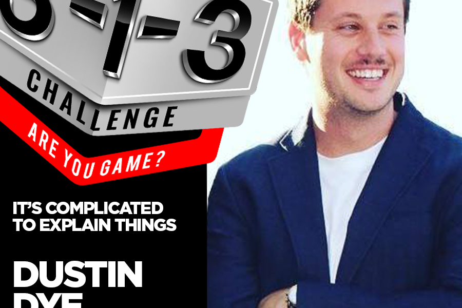 Podcast! The 3-1-3 Challenge with Ryan Foland: Dustin Dye