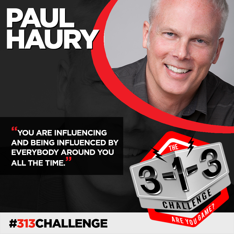 Podcast! The 3-1-3 Challenge with Ryan Foland: Paul Haury