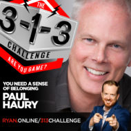 The 3-1-3 Challenge with Ryan Foland - Paul Haury
