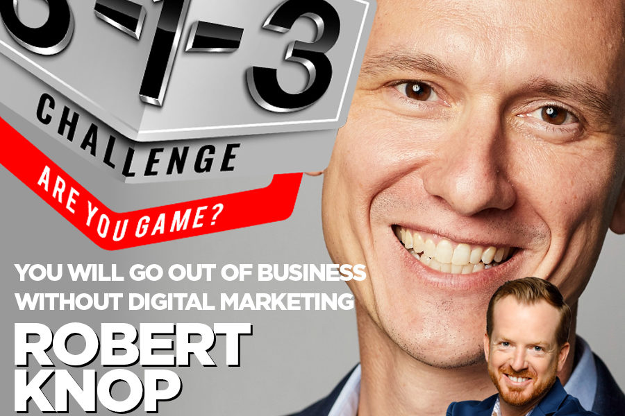 Podcast! The 3-1-3 Challenge with Ryan Foland: Robert Knop