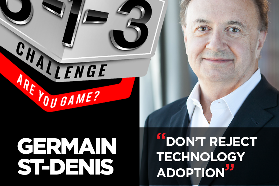 Podcast! The 3-1-3 Challenge with Ryan Foland: Germain St-Denis